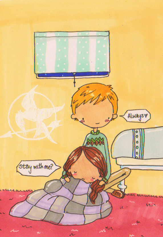 Katniss and Peeta- Always by Pinkie-Perfect