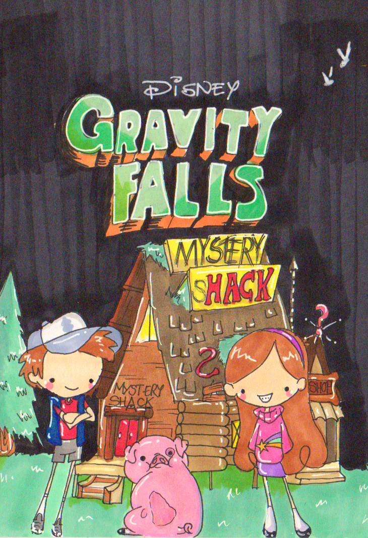Gravity Falls by Pinkie-Perfect