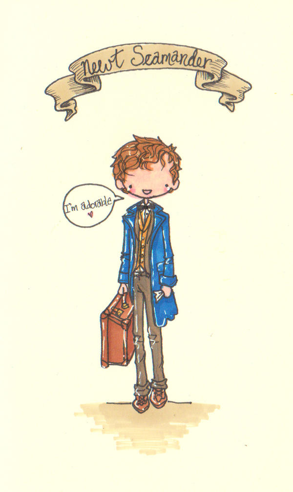 Fantastic Beasts And Where To Find Them By Pinkie Perfect
