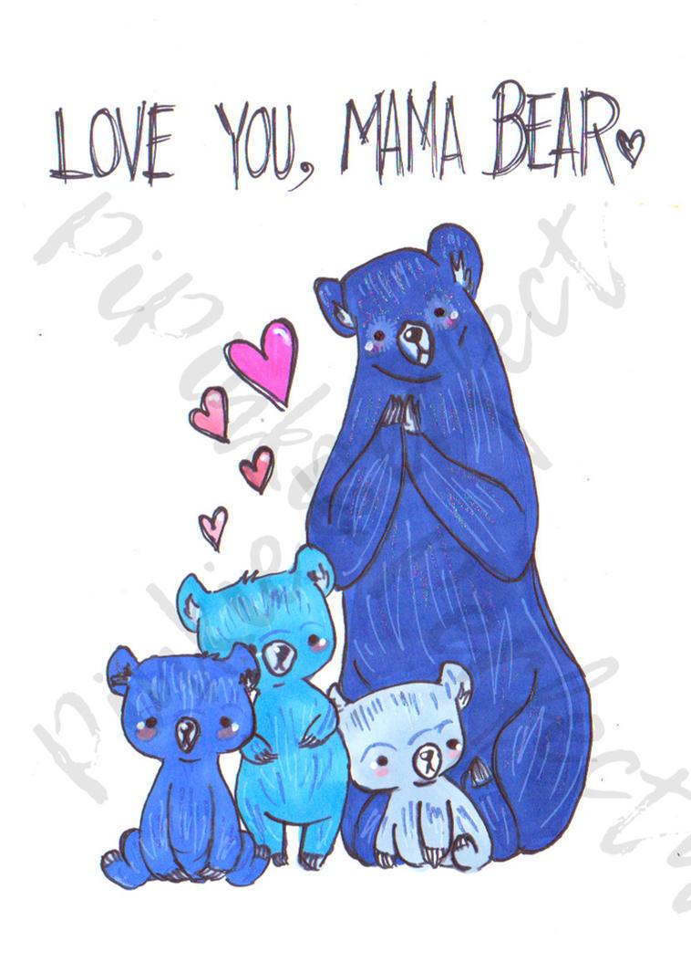 Mama Bear by Pinkie-Perfect