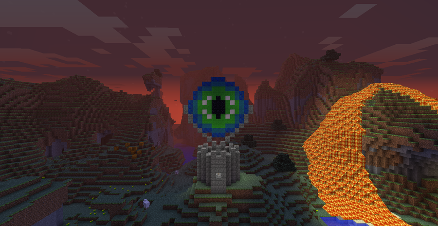 how to build an eye of the ender