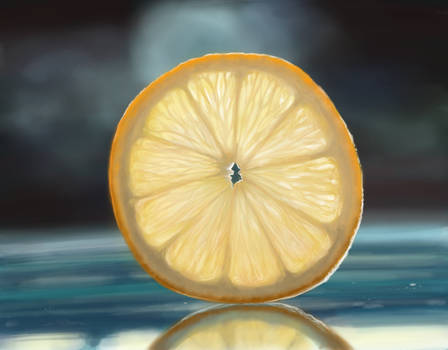 Lemon - Speed Painting