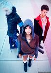 Dante, Vergil and Kat DmC 5 Cosplay