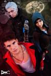 Dante, Kat and Vergil DmC 5