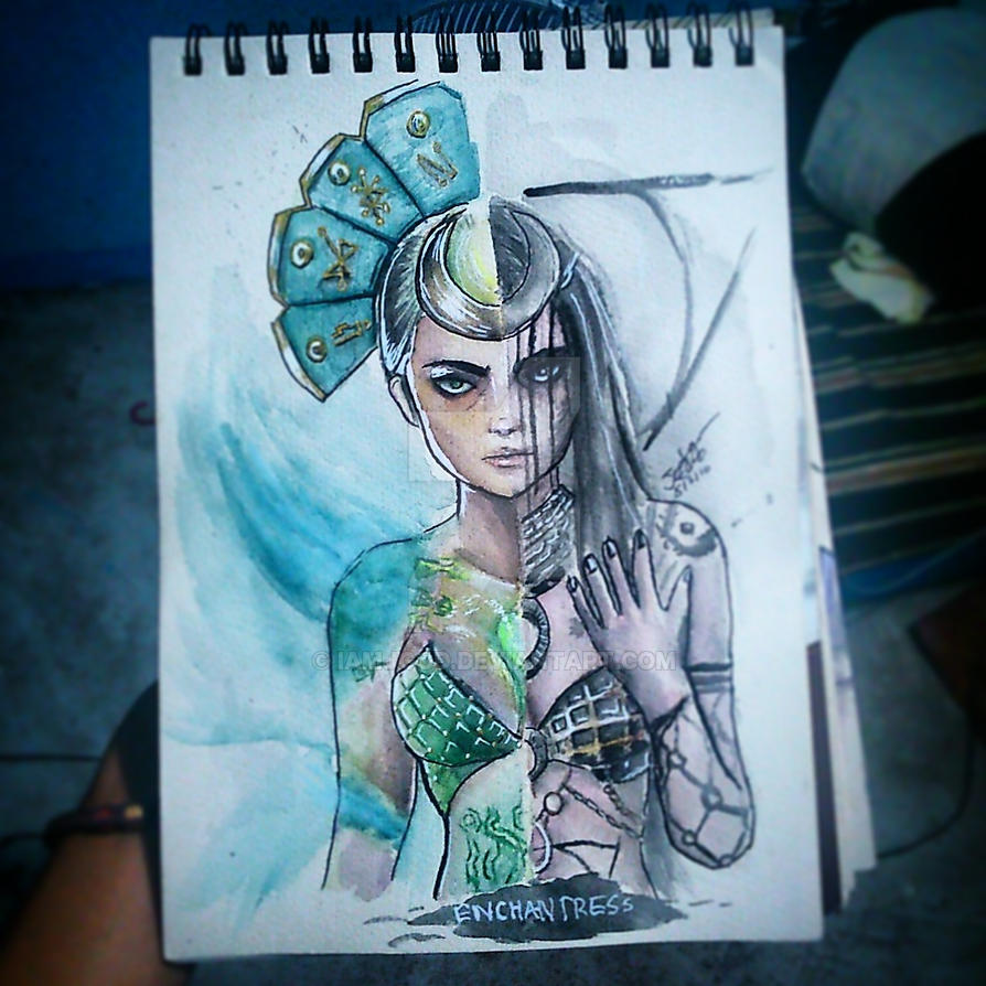 Enchantress by iamjgod