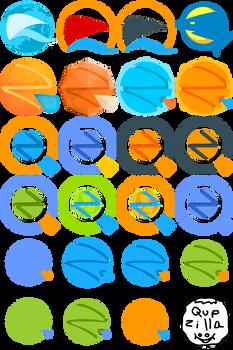Ideas: Qupzilla Icons