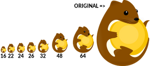 Lutris Logo Test Resolution
