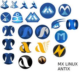 Recherche graphique autour de MX Linux et ANTIX