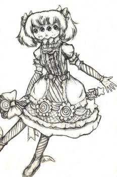 Three Faced Candy Magical Girl