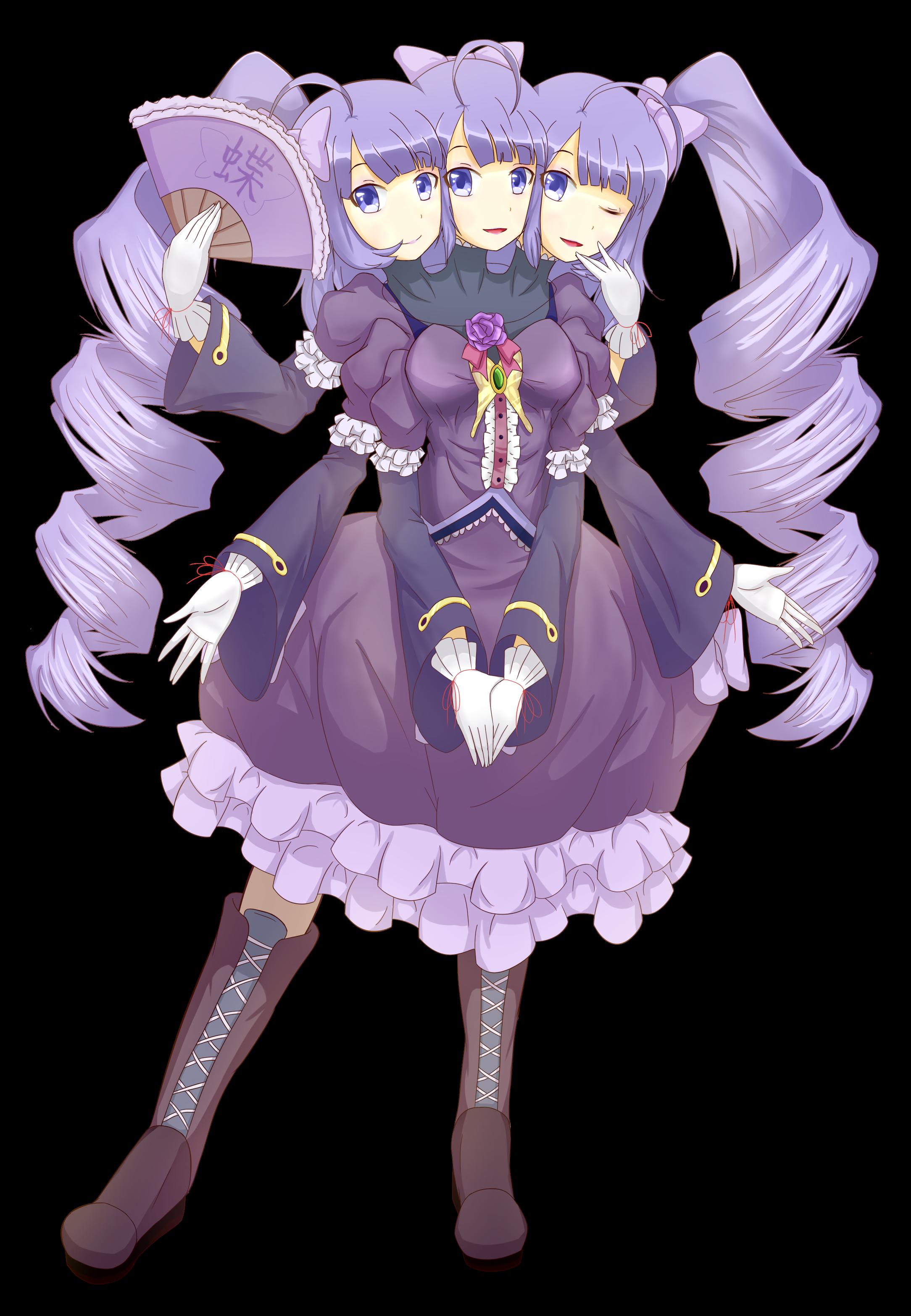 My Avatar - Xia the three headed girl