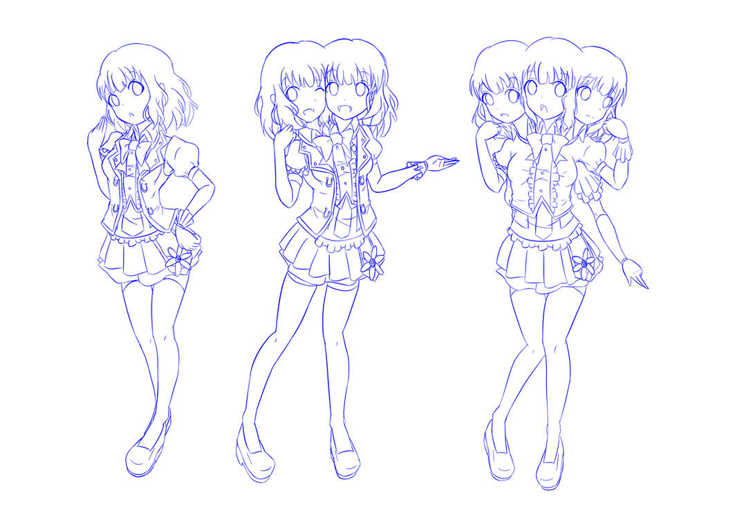 Evolution Of Uramoto Yumeka S Body By Jim830928 On Deviantart