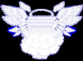 Chorus Angel Girl's Daughter - Sketch