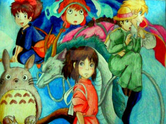 A Tribute by Me to Ghibli