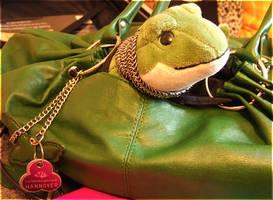 Froggy Says Goodbye by laracoa