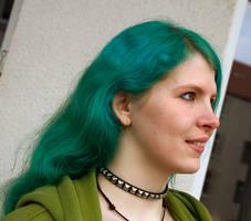 Green Hair by laracoa