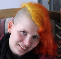 Sunset Hair #1 by laracoa