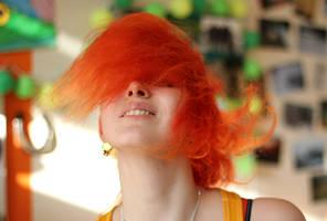 Fire Hair by laracoa