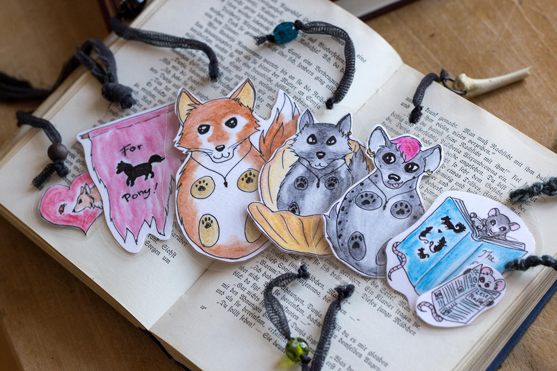 Bookmarks by laracoa