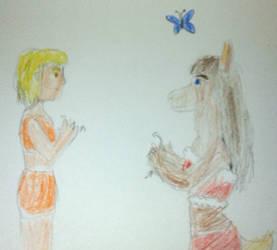 Art Gift Exchange: Sadiyah and Gold