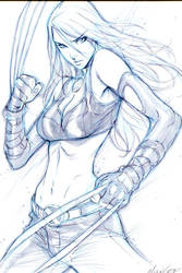 X-23 NYCC2012 Con Commission by Alvin Lee
