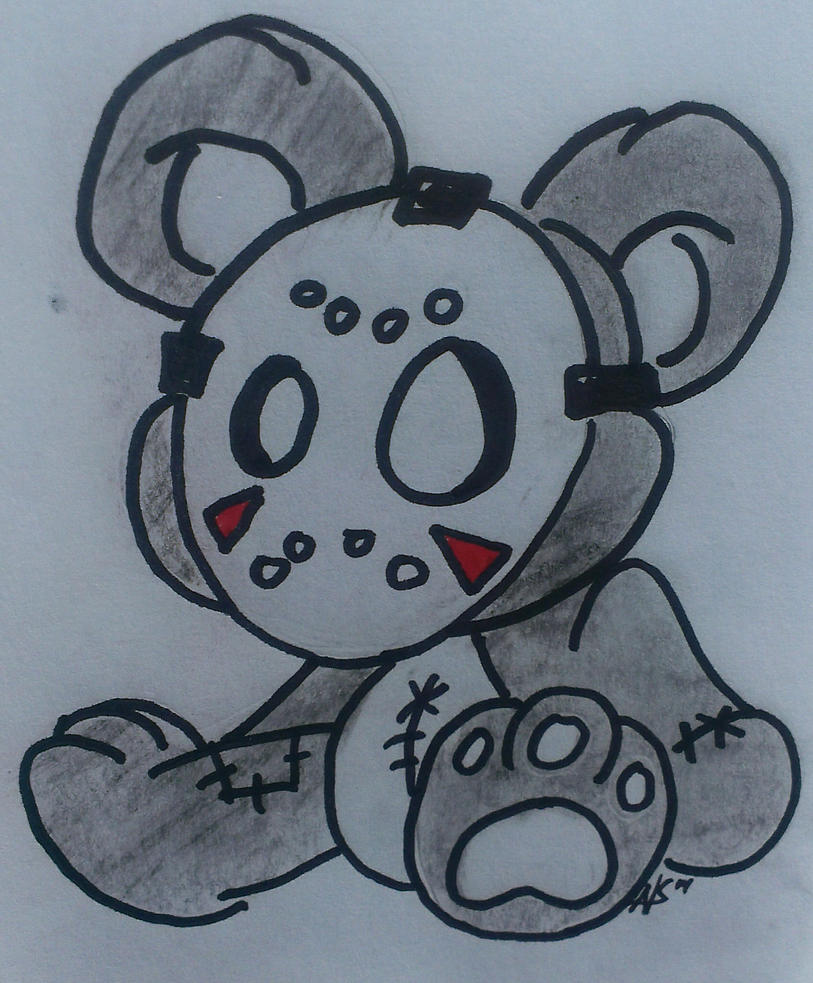 H2o teddy by ghettojedi75 on DeviantArt H20 Delirious Drawings