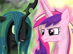 Princess Cadence vs. Chrysalis