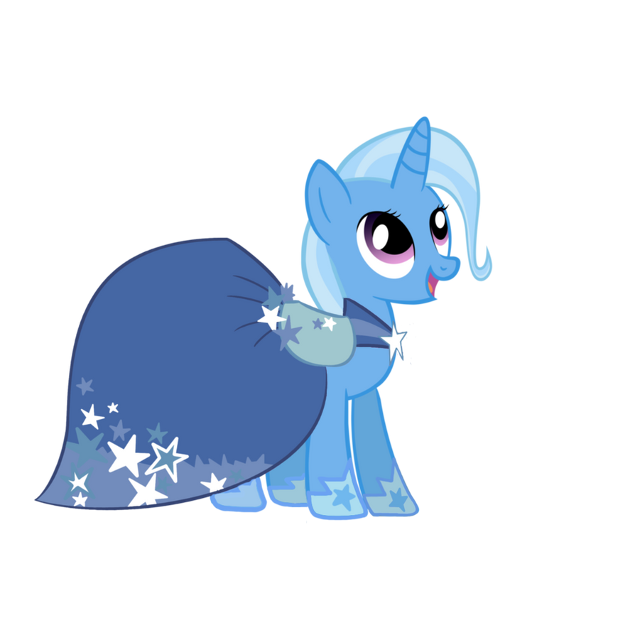 Trixie in Twilight Sparkle Gala Dress by Ezynell