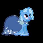 Trixie in Twilight Sparkle Gala Dress