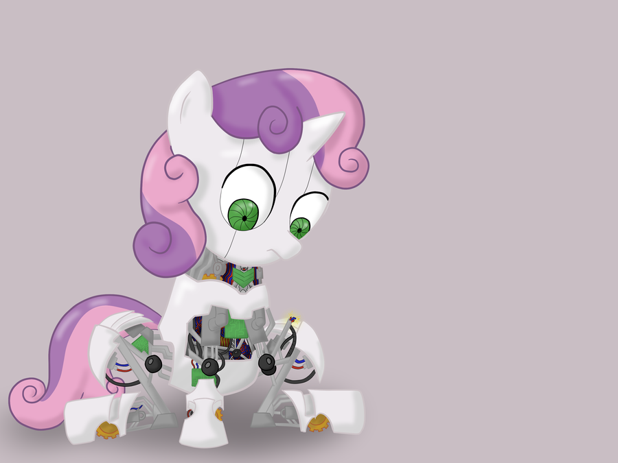 Sweetie Bot by Ezynell