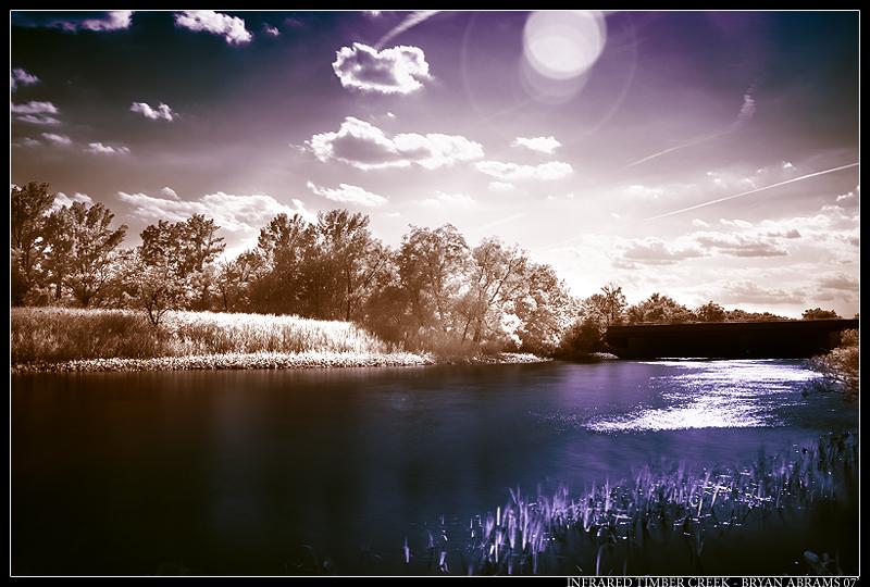 Infrared Timber Creek by dpbBryan