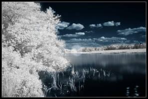 Infrared Lake by dpbBryan