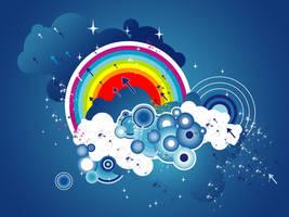 Abstract Rainbow by AMH05