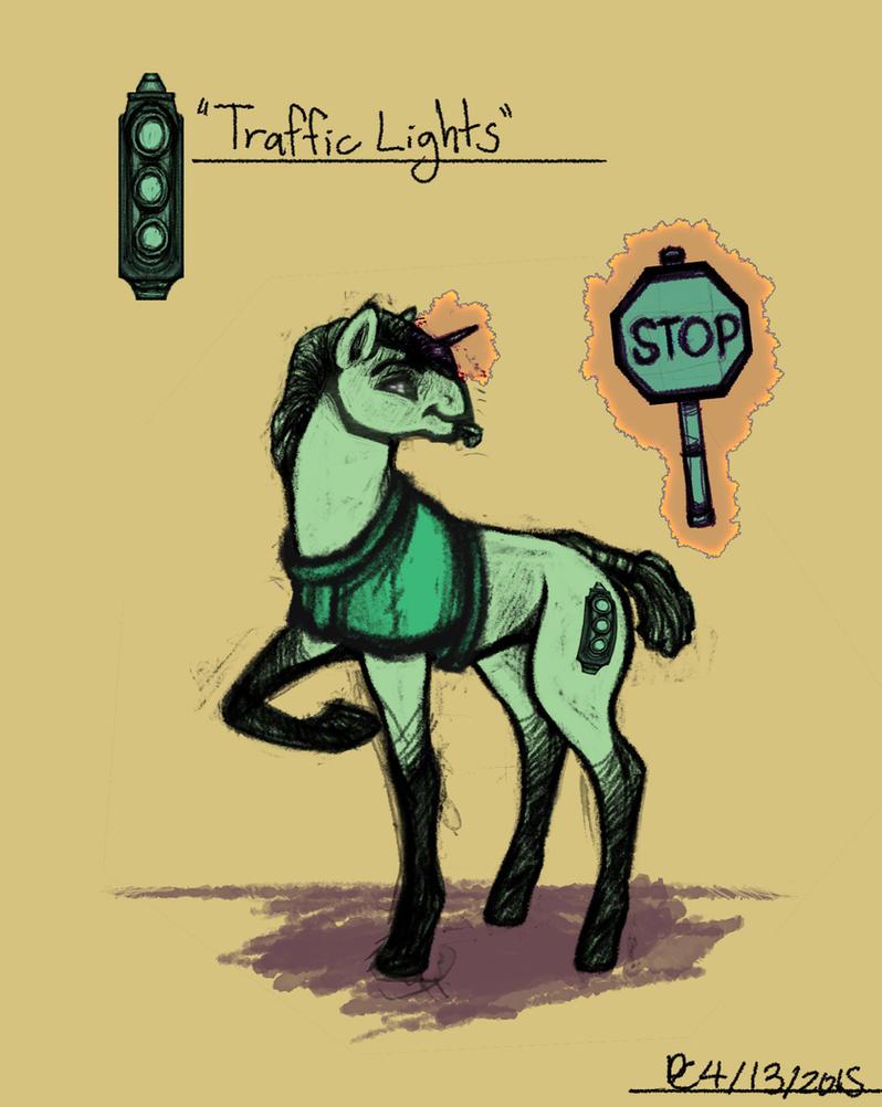 Sketchblog: Trafficlights by FlyingRam