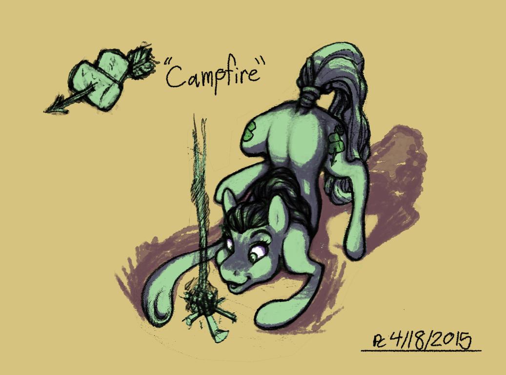 Sketchblog: Campfire by FlyingRam