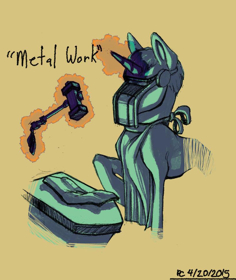 Sketchblog: Metal Work by FlyingRam