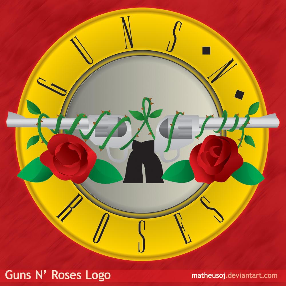 Guns N' Roses Logo by matheusoj on DeviantArt