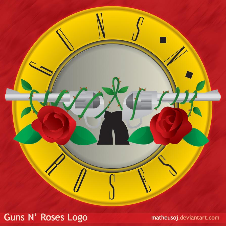 Gun And Roses Logo | www.imgkid.com - The Image Kid Has It!