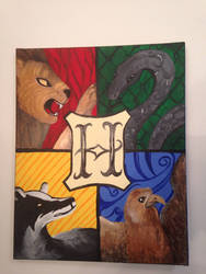 The Four Houses of Hogwarts by 00-Swift-00