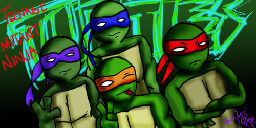 TMNT: Shell Shocked by 00-Swift-00