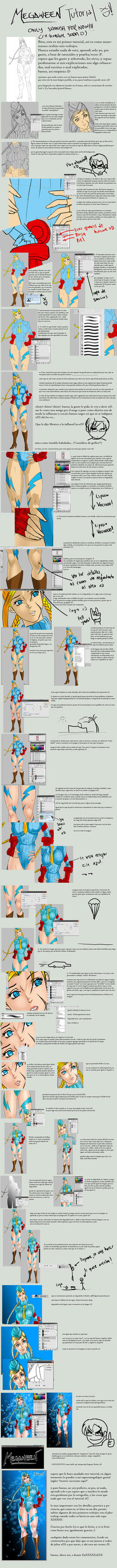 TUTORIAL xD by megaween