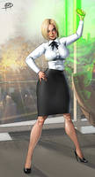 Powergirl Phase 1 commission