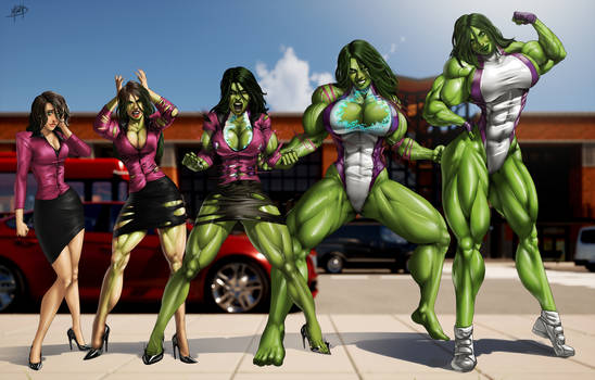 She-hulk Phases