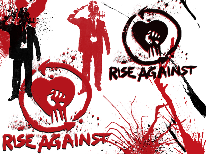 Rise Against Wallpaper By Lexman92
