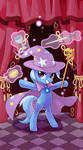 My little pony tarot card 1. Magician Trixie