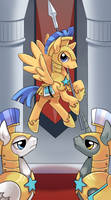 My little pony tarot card 5. The Hierophant by kairean