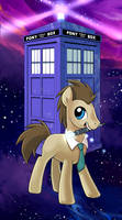 My little pony tarot card 9. THE HERMIT by kairean