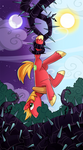 My little pony tarot card 12. The Hanged Man