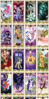 My Little pony Tarot card