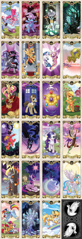 My Little pony Tarot card by kairean