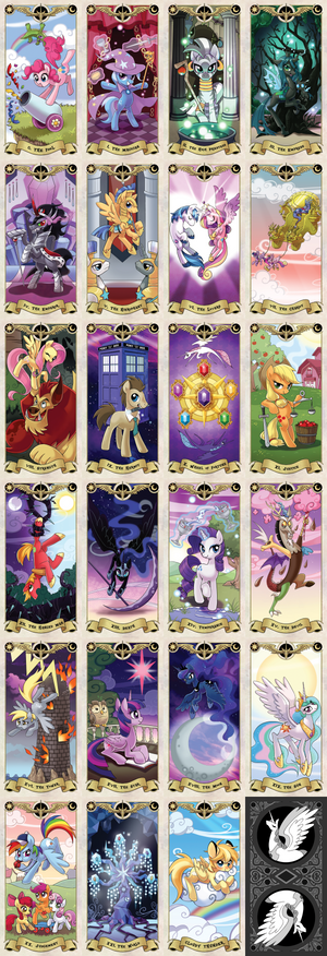 My Little pony Tarot card